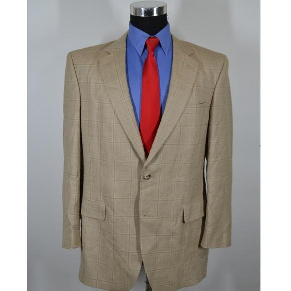 Jos. A. Bank Other - Jos A Bank 42L Sport Coat Blazer Suit Jacket Light
